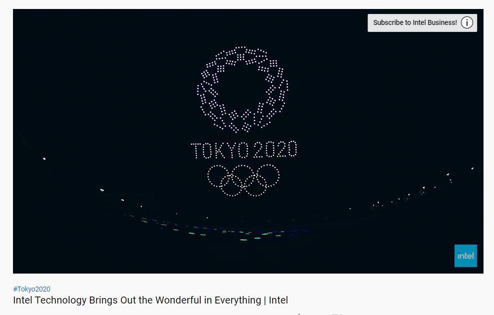 ドローン 東京オリンピック